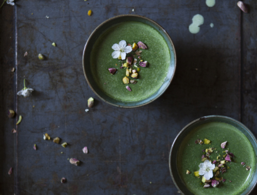 Something Green | Panna Cotta alle ortiche | The Freaky Table by Zaira Zarotti