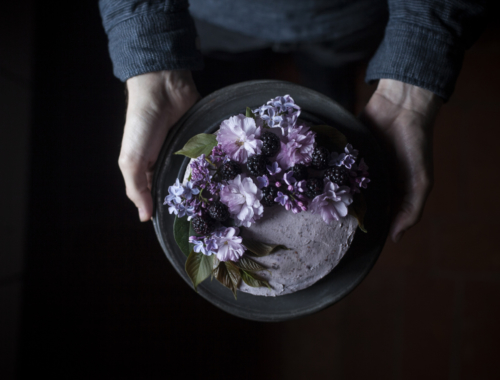 Blackberry Almond & Dark Chocolate cake & Saveur Blog awards nomination | The Freaky Table
