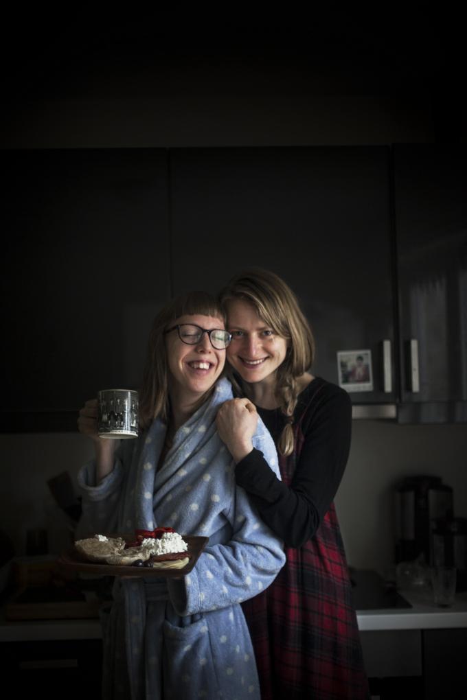 Renata e Janne