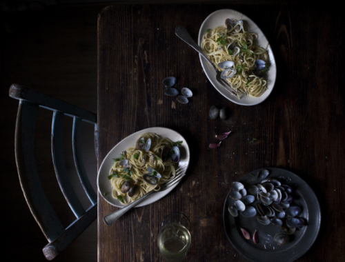 A boat trip in the Venetian lagoon and a dish of spaghetti con le vongole   The Freaky Table